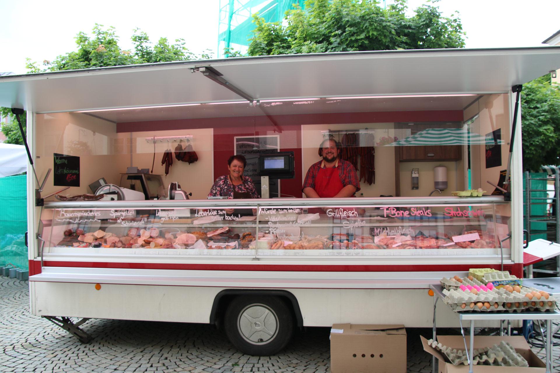 Wochenmarkt Familie Geigl
