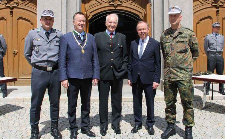 Jubilaeum Bundeswehr