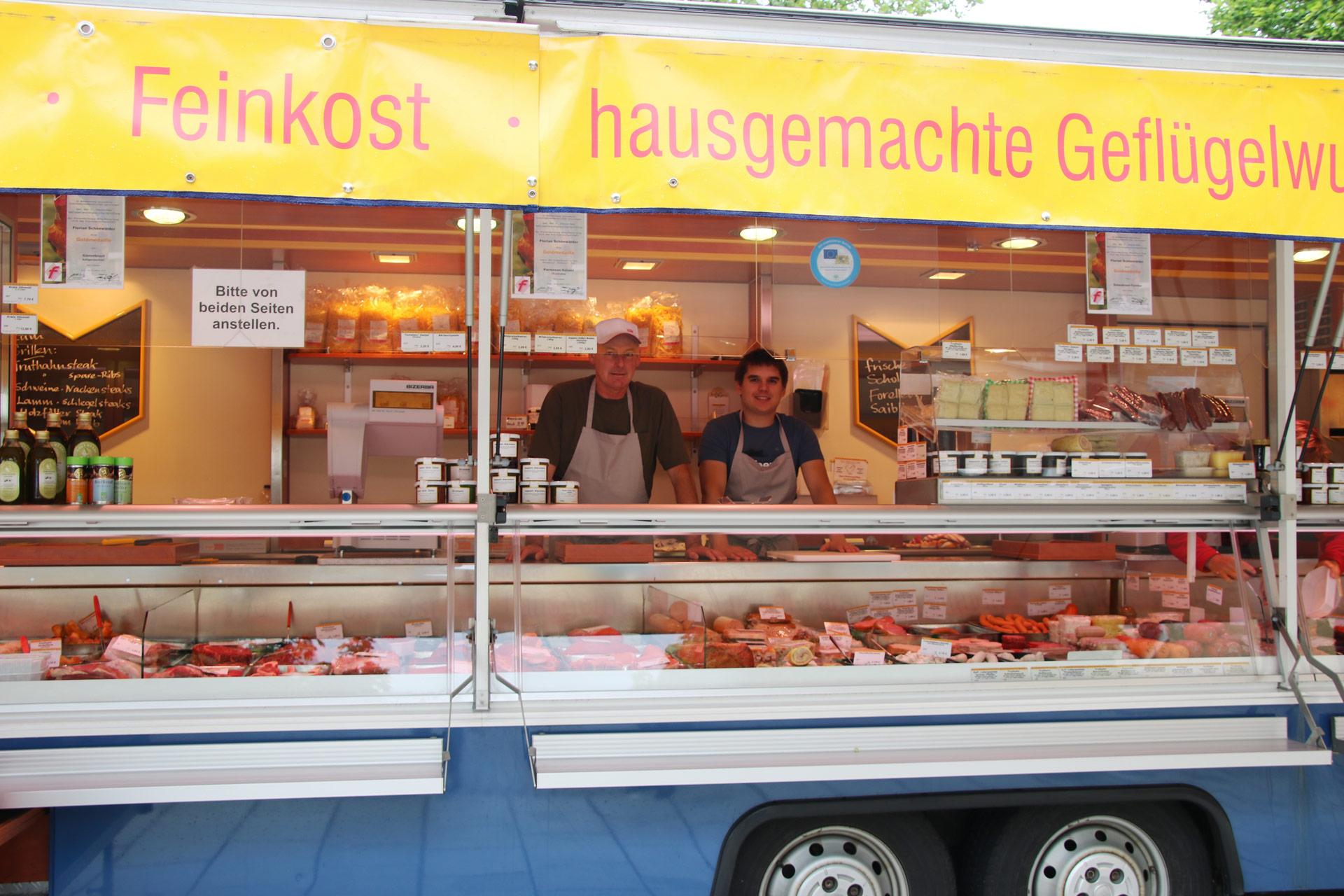 Wochenmarkt Familie Schönwälder