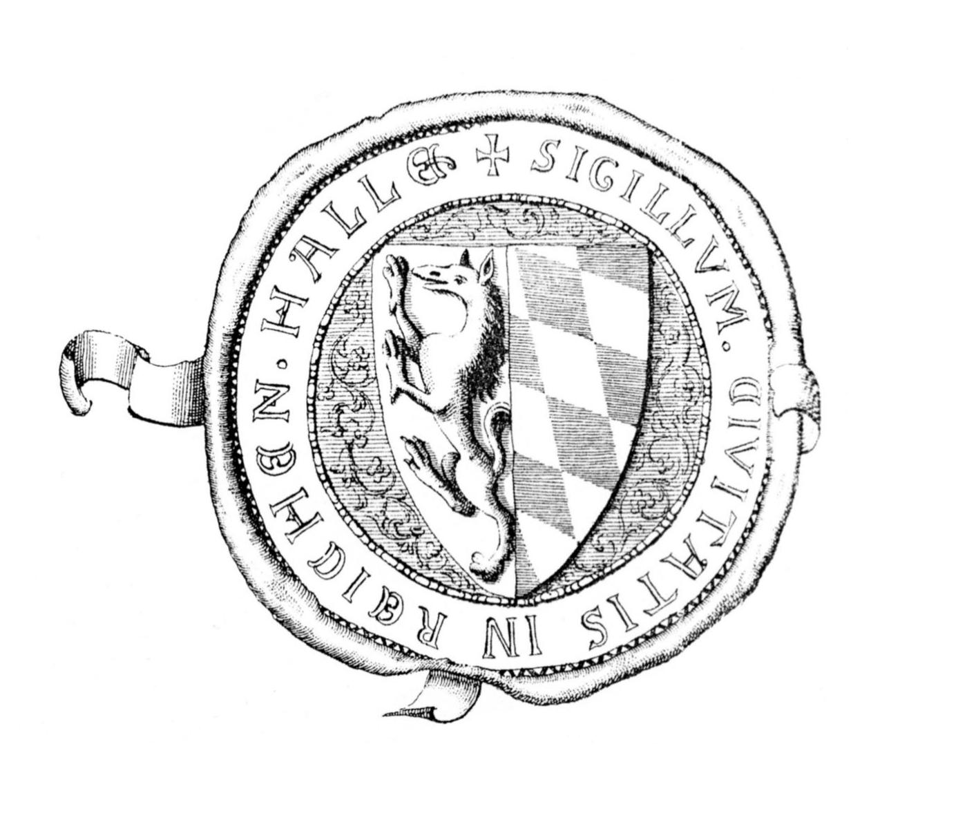 Siegel der Stadt Reichenhall