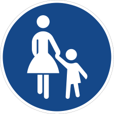Sonderweg Fußgänger