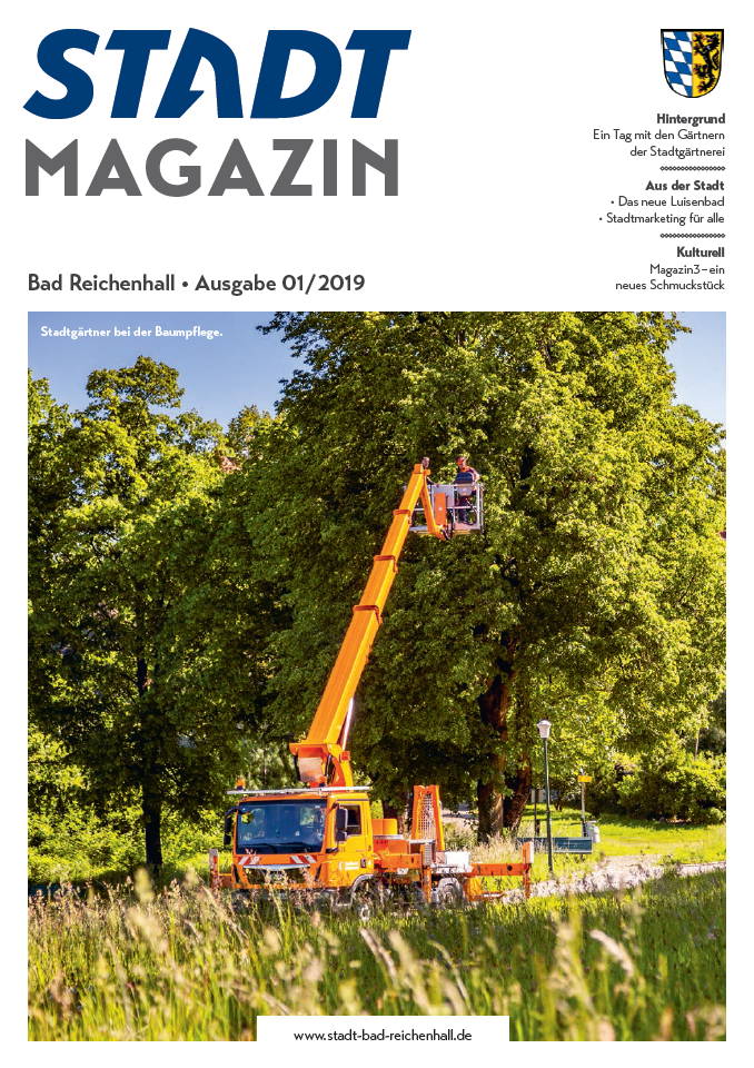 Titelbild Stadtmagazin 01-2019