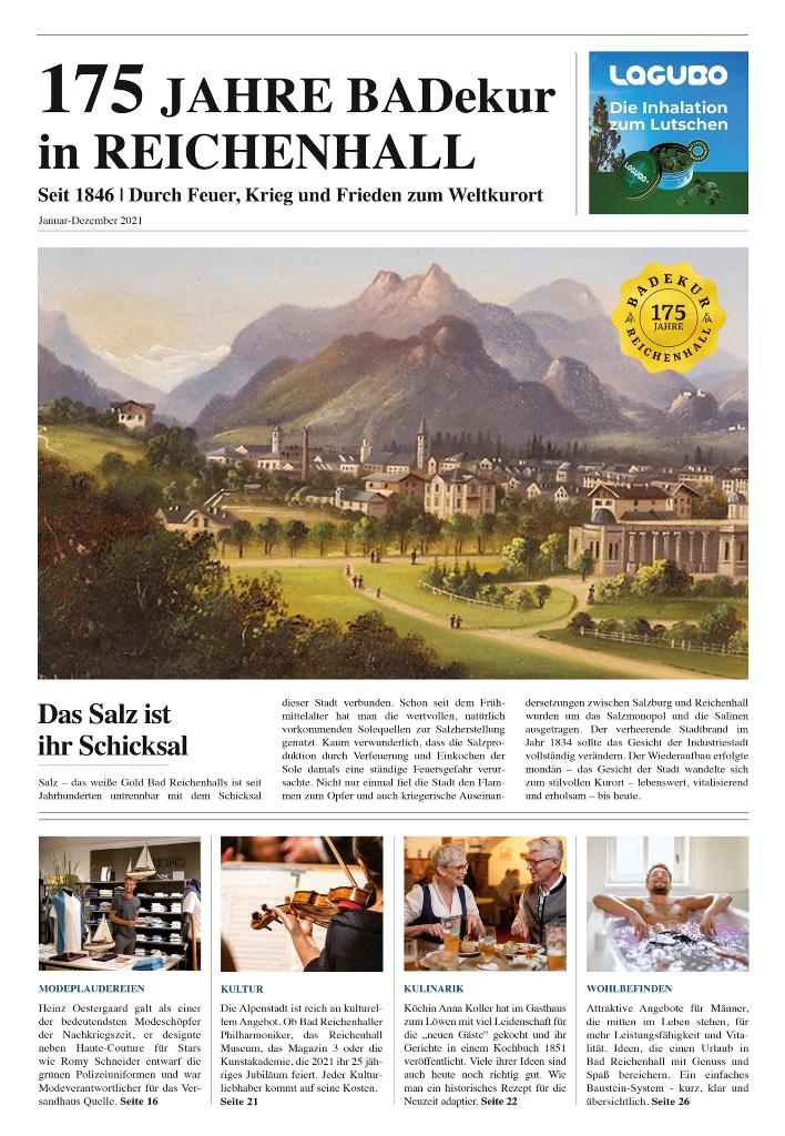 175 Jahre Zeitung Cover