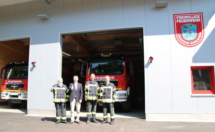 Eröffnung der neuen Feuerwache Karlstein