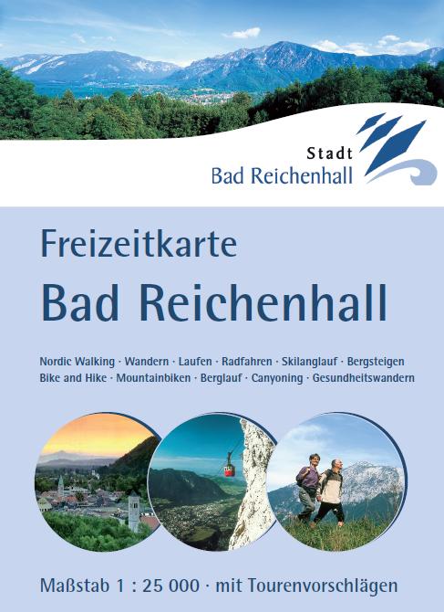 Freizeitkarte Bad Reichenhall