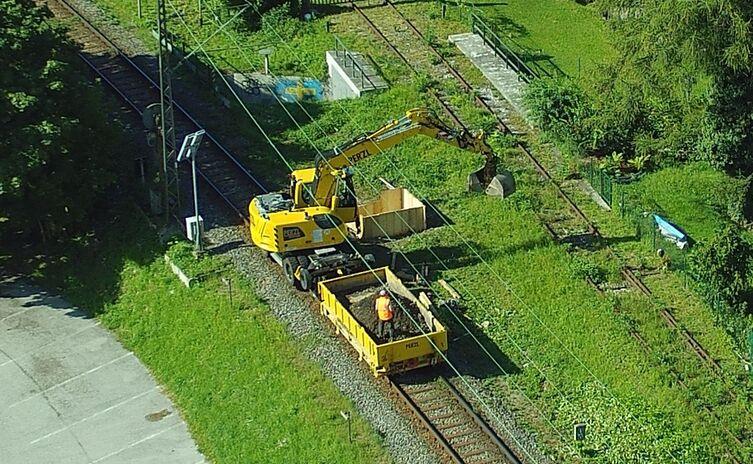 Grabung Holzfeldweg