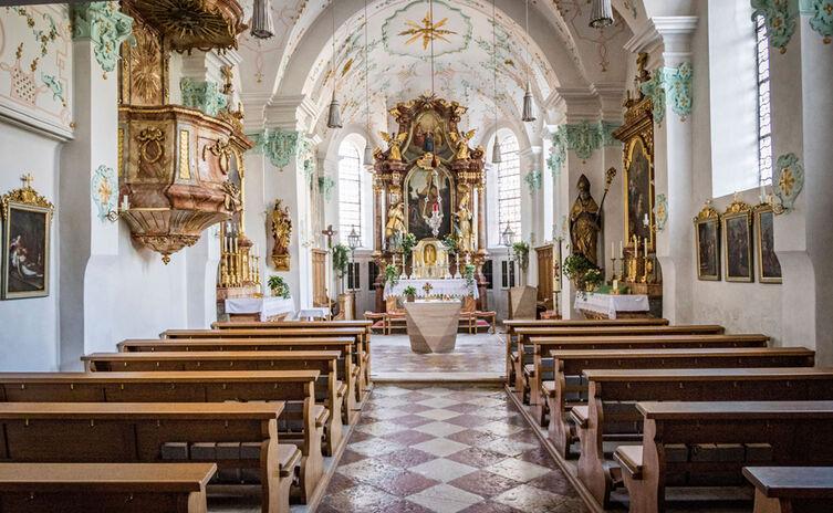 Innenraum Der Kirche St