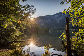 Abendstimmung am Thumsee