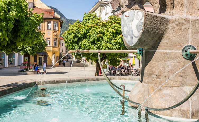 Wittelsbacherbrunnen am Rathausplatz