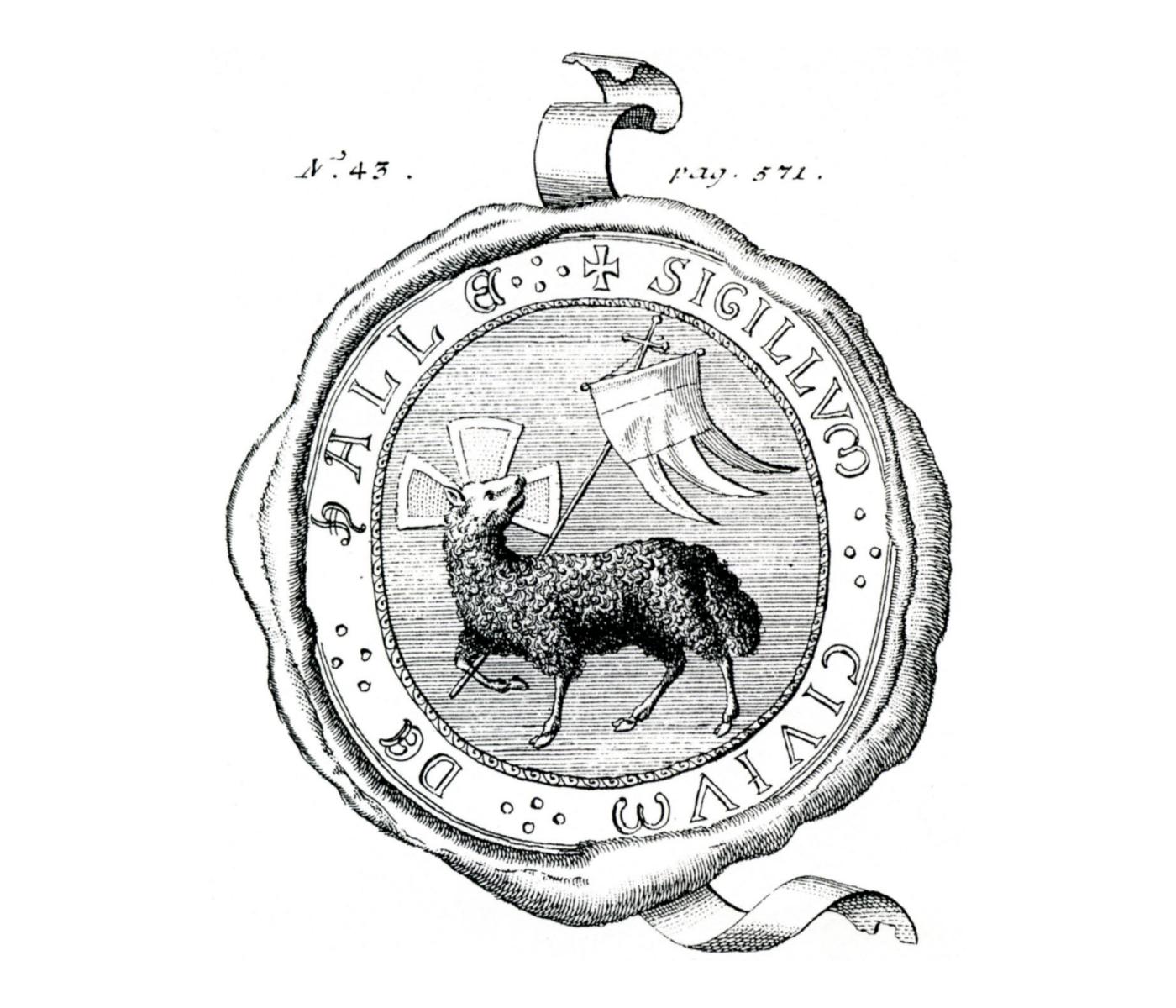 Siegel der Bürger von (Reichen)hall