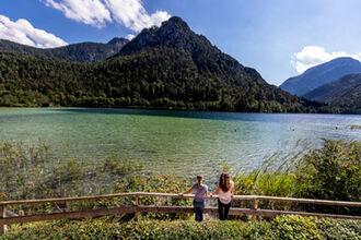 Der Thumsee - Bergsee mit bester Wasserqualität