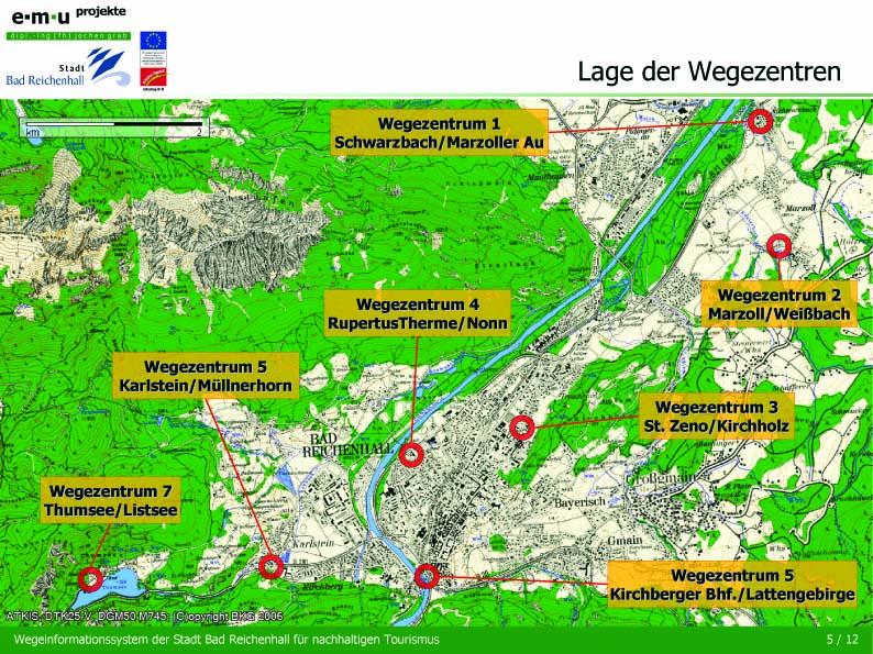 Wegeinformationssystem WIS